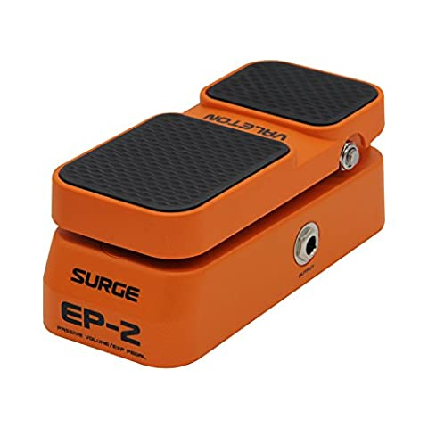 Sonicake Valeton Passive Volume Expression Guitar Effects Pedal 2 Performance (Bass Guitar Volume Pedal)