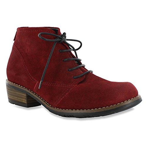 Wolky Damen Sandaletten NV 3204300 Schwarz 278854 Oxblood Greased Suede