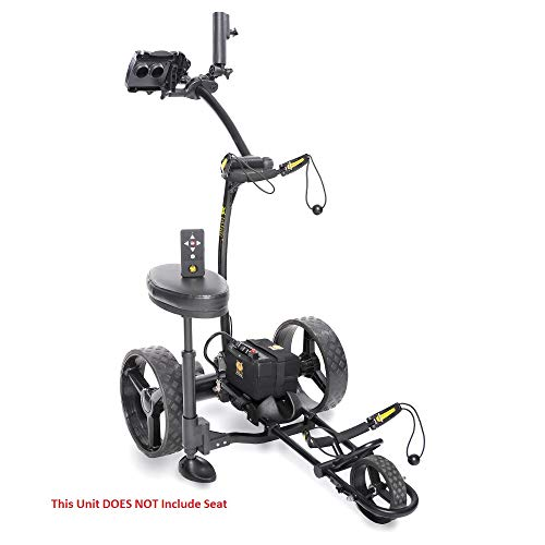 Bat-Caddy X4R Sport Remote Control Cart w Free Accessory Kit, 20 AH Lithium, Black