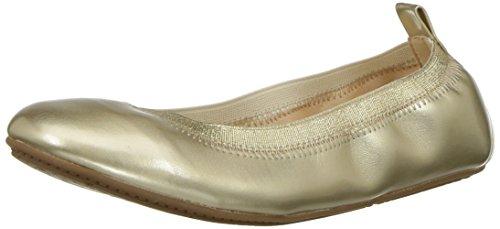 Yosi Samra Girls' Miss Samara Ballet Flat Gold 4 M US Big -