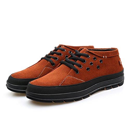 Scarpe Oxford Casual Traspiranti Da Uomo Alla Moda Stile Xiafen Per Lautunno Arancione