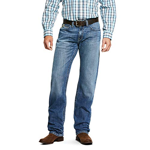 ARIAT Men's M2 Relaxed Lassen Stackable Boot Cut Jean