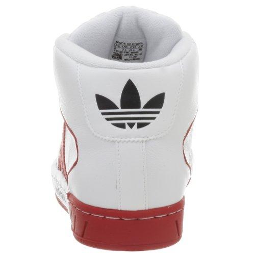 Adidas Heren Pro Model Houding Schoen Wht / Rood / Navy