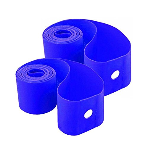 RMS par Flap duros Fat Bike 26 x 65 mm Azul (Flap Tapacubos)/pair Rigid Rim Flap Fat Bike 26 x 65 mm Blue (Flap Wheel)