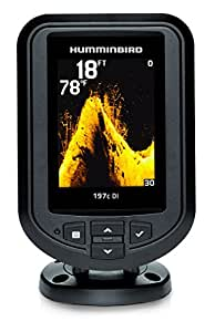 Humminbird 409690-1 PiranhaMax 197C DI Color Fish Finder with Down-Imaging (Grey)