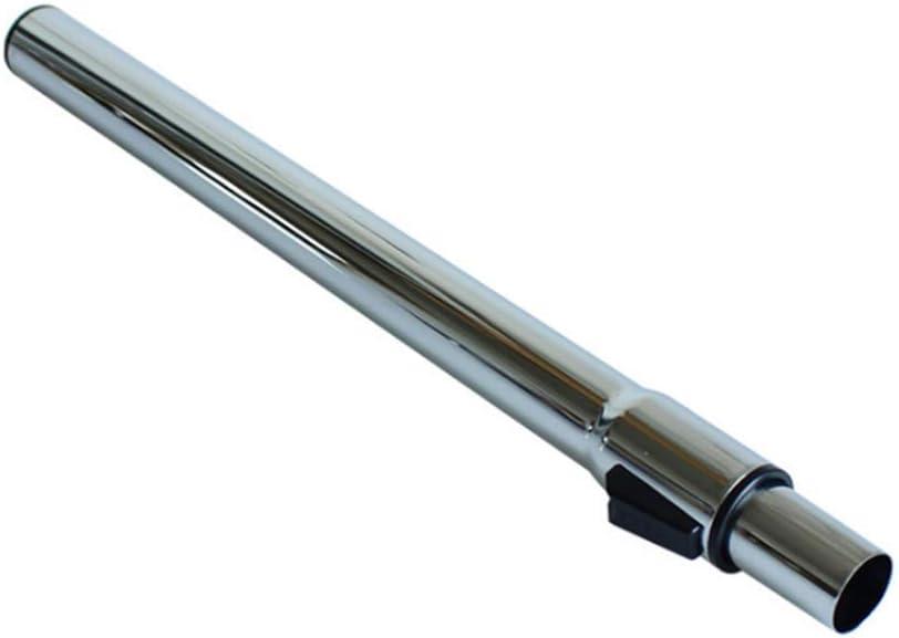 Machine-Ya Φ32mm Tubo telescópico de Metal Tubo de extensión Recto Longitud de Tubo 804mm Accesorios de aspiradora