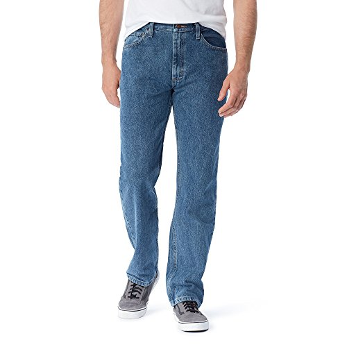Vintage Fit Denim - Wrangler Authentics Men's Classic Relaxed Fit Jean, Vintage Stonewash, 30x30