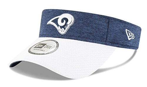 New Era Los Angeles Rams NFL 2018 Official Sideline Performance Visor by New Era