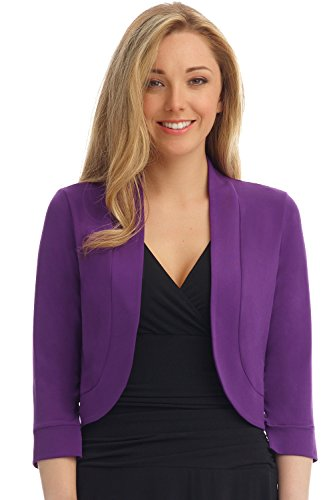 Rekucci Womens Rounded Stretch Bolero product image