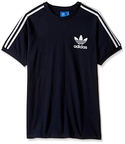 adidas Originals Men's California Tee, Legend Ink/White, XX-Large