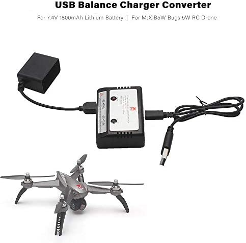 Aircraft 3 In 1 Lipo Battery Charger Output 3V 2A for Tello Drone Accessories