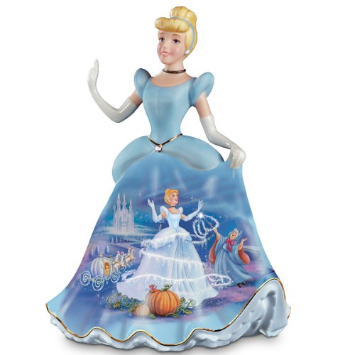 - The Bradford Exchange Cinderella Porcelain Bell