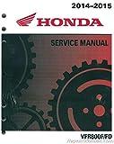 61MJM01 2014 2015 Honda VFR800 F FD Interceptor Motorcycle Service Manual