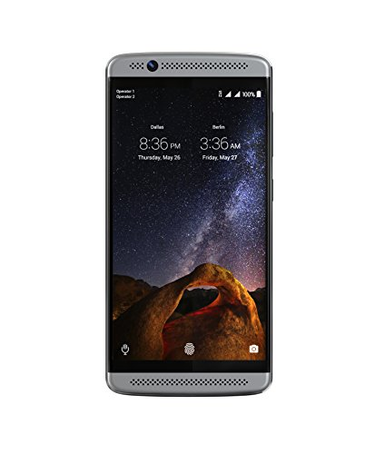ZTE Axon 7 Mini - Factory Unlocked Phone - (Platinum Grey)