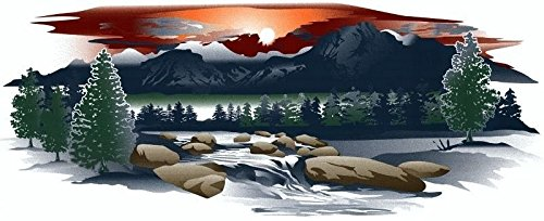 Trailer Motorcoach Mountain Scene Graphic product image