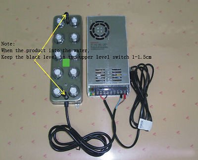 TOPCHANCES 110V 10 Head Ultrasonic Mist Maker Fogger Humidifier Hydroponics with Transformer