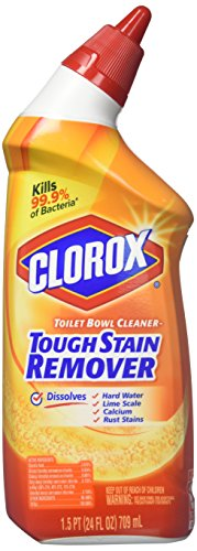 Clorox Toilet Bowl Cleaner, Tough Stains Formula - 24 oz - 3