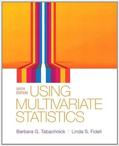 amazon com tabachnick using multiva statist 6 6th edition