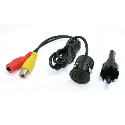 uxcell 1/4 inch CCD Flush Mount Backup Rear View Camera ()