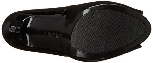 Bomba de vestir de cuero de imitación-Nine West Qtpie Black Synthetic