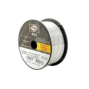 Harris 0404321 4043 Aluminum MIG Welding Wire, 3/64″ x 1 lb. Spool (20 lb. Cartons)