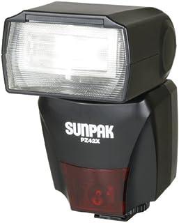 amazon com sunpak super 383 flash on camera shoe mount flashes rh amazon com Sunpak Logo sunpak auto 383 super manual