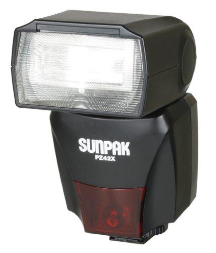 Sunpak pz42 X Cカメラフラッシュ   B0015A93E8