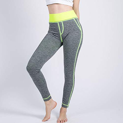Gym Di Pantalone Leggings Sexy Pants Da Athletic Tuta Push Morwind Donne Up False Yellow Mesh Pantaloni Yoga Fitness Sportivi Pocket Leggins gagx8qwH