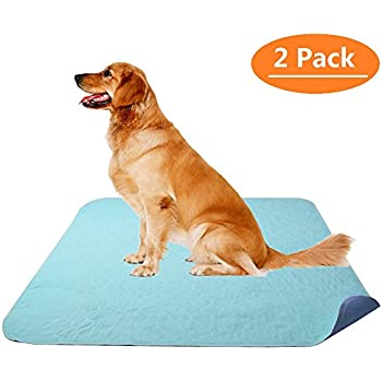 Amazon.com : KOOLTAIL Washable Pee Pads for Dogs 2 Pack 36