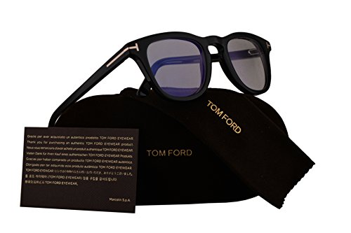 Tom Ford FT5488-B Eyeglasses 49-23-145 Shiny Black w/Demo Clear Lens 001 TF5488-B FT 5488-B FT5488 TF5488 TF - Tom Sunglasses Jacob Ford