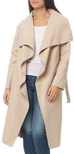 Casquette Manteau Unique Femmes Avec Veste Manteo Cascade Malito Enveloppe Taille Bolero 3040 Gabán Beige Long wqpZI