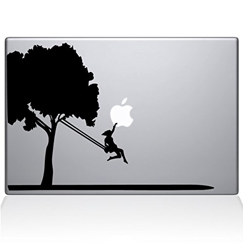 The Decal Guru 0163-MAC-13P-BLA Tree Decal Vinyl Sticker, 13