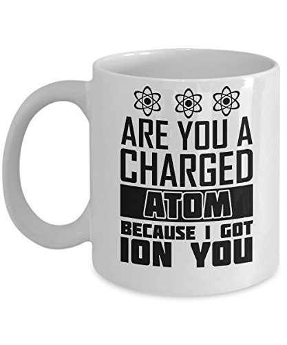Are You A Charged Atom Because I Got Ion You Coffee Mug - 11oz Mug - Funny Gift For Scientist