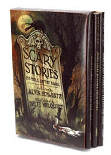 Scary Stories Box Set: Complete Collection with Brett