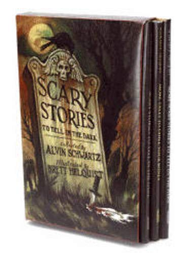 Scary Stories Box Set: Complete Collection with Brett Helquist Art ()