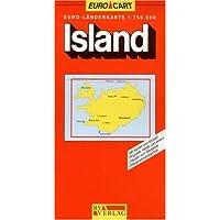 RV Euro-Länderkarte 1:750 000 Island