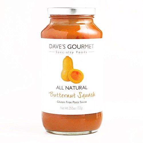 Daves Gourmet Butternut Squash Pasta Sauce 25.5 oz each (1 Item Per Order, not per case)