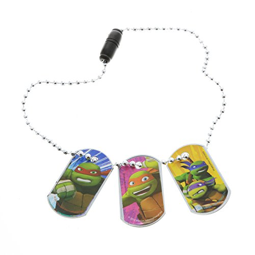 Nickelodeon Teenage Mutant Ninja Turtles Dog Tags - TMNT - Set of 3