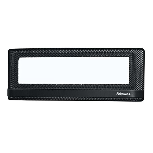 Fellowes Mesh Partition Additions Name Plate (7703201) (Fellowes Nameplate)