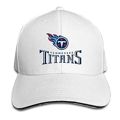 Pixidesiy Retro Tennessee Titans White Men's Adjustable Casquette Baseball Hip Hop Cap