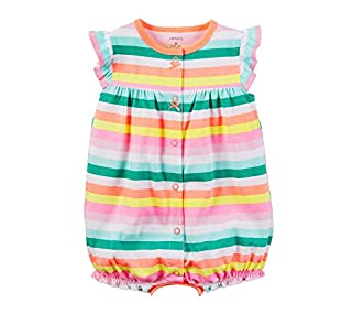 Carter's Baby Girls' Striped Cupcake Snap Up Romper 24 Months Pink (B06XDMKFMC)   Amazon price tracker / tracking, Amazon price history charts, Amazon price watches, Amazon price drop alerts