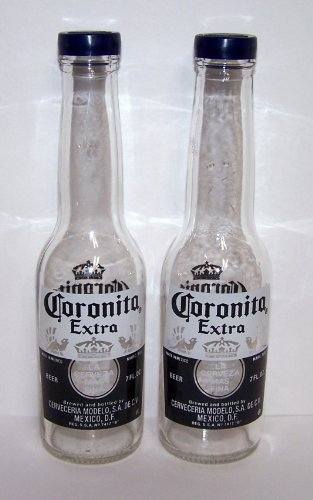 Corona Pepper Shakers Coronita Bottles