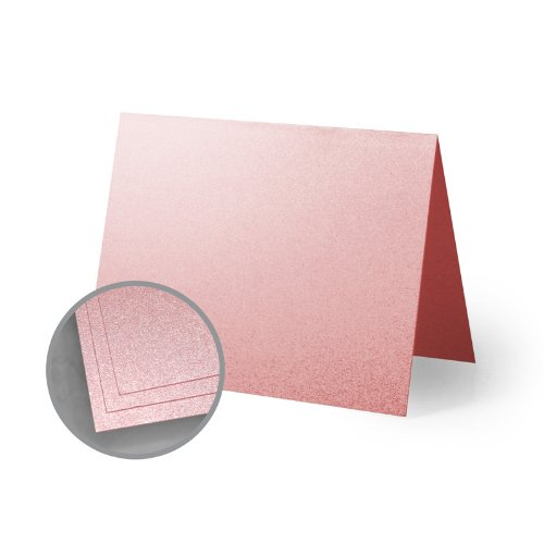 ASPIRE Petallics Mountain Rose Folded Cards - A1 (3 1/2 x 4 7/8 folded) 98 lb Cover Metallic C/2S 400 per Carton