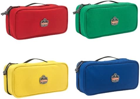 Zippered Storage Pouches Kit, Includes A Pack of 4 Bags, Large Ergodyne Arsenal 5875K