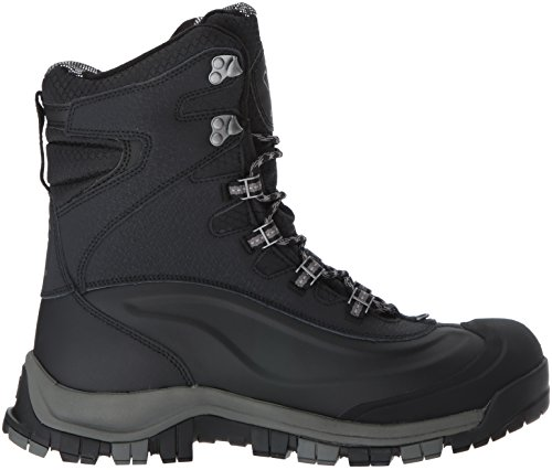 Columbia Men's Bugaboot Plus Omni-Heat Michelin Snow Boot Black, Boulder