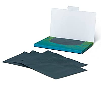 Oil Blotting Paper Sheets – Instantly Absorbs Excess Oil and Shine from Face without Smudging Makeup – Large size, 200 Tissues …
