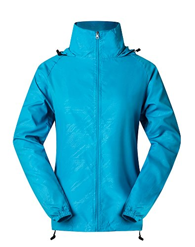 WOMEN'S LIGHTWEIGHT WATERPROOF WINDBREAKER JACKET