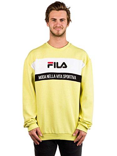 Amarillo Men Steven Men Fila Men Steven Sweatshirt Sweatshirt Amarillo Fila Fila qpn0rwxpvE