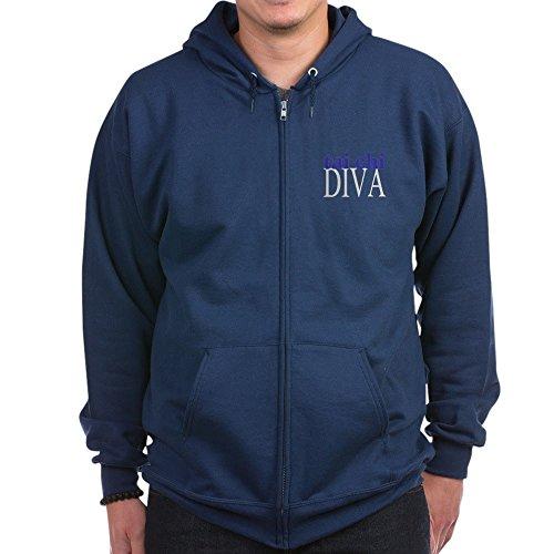CafePress - Tai Chi Diva - Zip Hoodie, Classic Hooded Sweatshirt with Metal Zipper