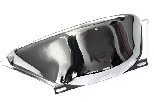 Chevy GM 700R4 Chrome Steel Transmission Flywheel Dust Cover Shield ()